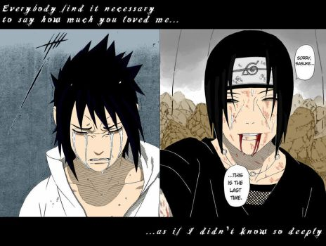 Sasuke and Itachi by Mietschie