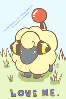 Mareep by AxMongrel