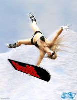 SSX: Elise Riggs by shotgung0d