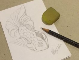 Fish tattoo design by Lulabys-Melody