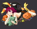 Candy Corn Halloween Pinup 3013 by Onirin
