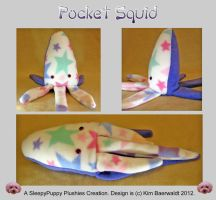 Pocket Squid (18'') SOLD by SPPlushies