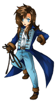 Richter Chibi by drunkenturnip