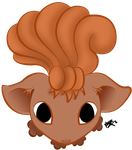 0037 Vulpix by Dragon-Master-Naya
