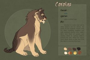 Corolus reference sheet by Kium