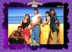 PR20 Custom Trading Card - 01-012 MMPR Teens by zordonfanclub