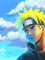 Naruto: Naruto Portrait by Risachantag