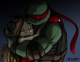 Tough Guy Hugs by R2ninjaturtle