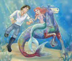 Come with me- Little Mermaid by ArtisinmyHeart