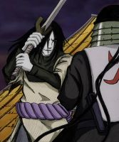 Orochimaru v. The Third Hokage by dragonheart