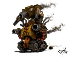 Super Machine Tank by Morkt