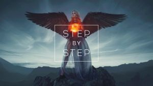 Heart of courage / step by step gif by maxasabin