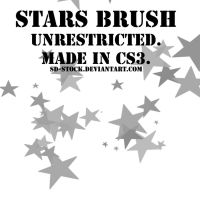 Stars Brush by sd-stock
