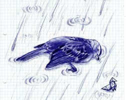 Heavy Rain scetch by Chocolatesparerib
