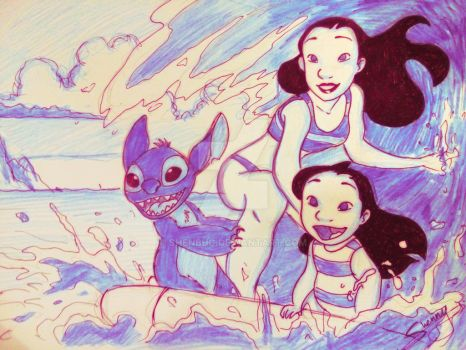 15 YEARS OF LILO AND STITCH~! by Shenbug