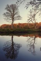 Autumn Evening Reflections by Gerard1972