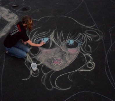 More Chalk Doodles. by Brenna1791