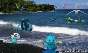PokeDex 3D Tropical Island by piplupwater