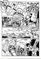 """Page 2 of """"Sky Shark"""" strip by duraluminwolf"""