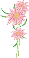 pink flower 7 by MaxandPercy4ever