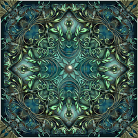 Four Winds - Mandala by Lilyas