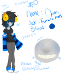 Home stuck: Nami Ref by PyroScarlet