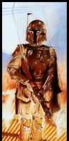 Boba Fett-Carbonite Chamber by GabeFarber