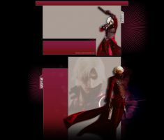Dante Sparda Devil May Cry 2 YT Layout by BriellaLove