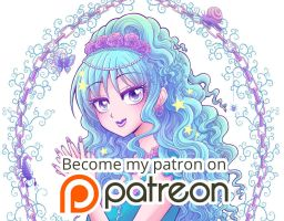 Support my art on Patreon! by hyacinthess
