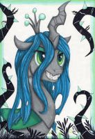 Queen Chrysalis by SparklySpectrum