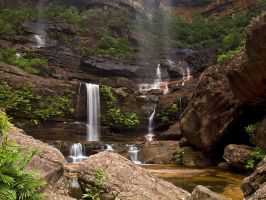 Water Falls Galore by FireflyPhotosAust