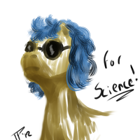 For SCIENCE by JulepPony