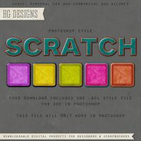 PS Style: Scratch by HGGraphicDesigns