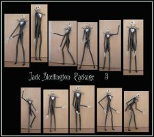 Jack skellington pack 3 by Adaae-stock