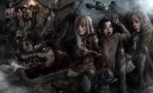 Black Rose - The Rust Foxes by RustyAlchemist