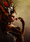 Queen of Spades - Voodoo Style by CAHess