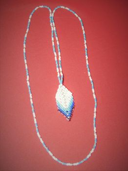 Little feather necklace by KasterKate