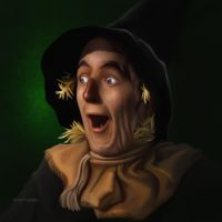 Wizard of Oz: Scarecrow by ThreshTheSky