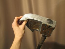 One-Hand Axe by 9lab-workshop