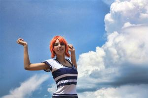 Nami - One Piece by NatalieCartman