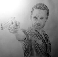 Sheriff Rick Grimes by nice1nels