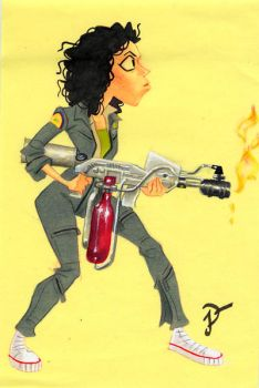 Spacebabe013 Ripley by sobad-jee