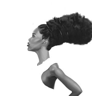 Afrochick by azules847
