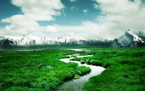 Norway_Montain_River by XArmonyAngel2012X