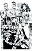Justice League by Ta2dsoul