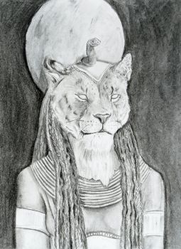 Baast, Goddess of Cats by Puppy-eater