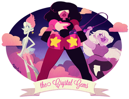 the crystal gems by mayakern