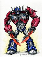 Optimus Prime by jbrenthill
