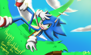 Happy Birthday! Sonic! by heihei188