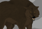 :Fables comics: Bigby Wolf wolf by Singerwolf